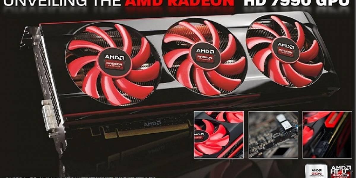 "AMD lanza su tarjeta de video Radeon HD 7990 ""Malta"""