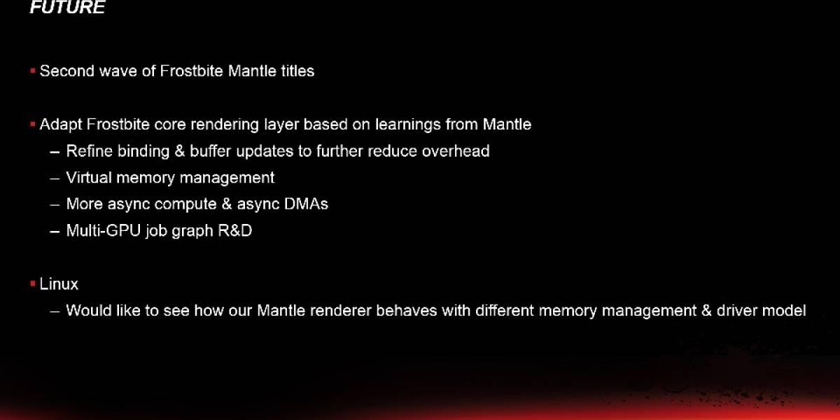 AMD trabaja en un controlador Mantle para Linux/SteamOS