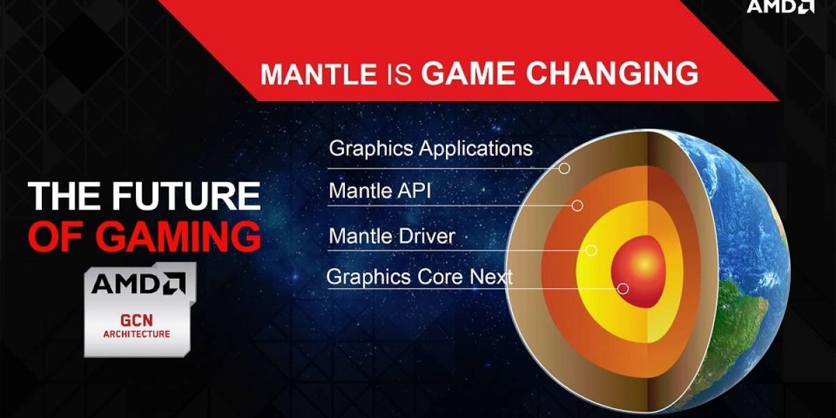 API AMD Mantle 2.0 llegará a fines del próximo año