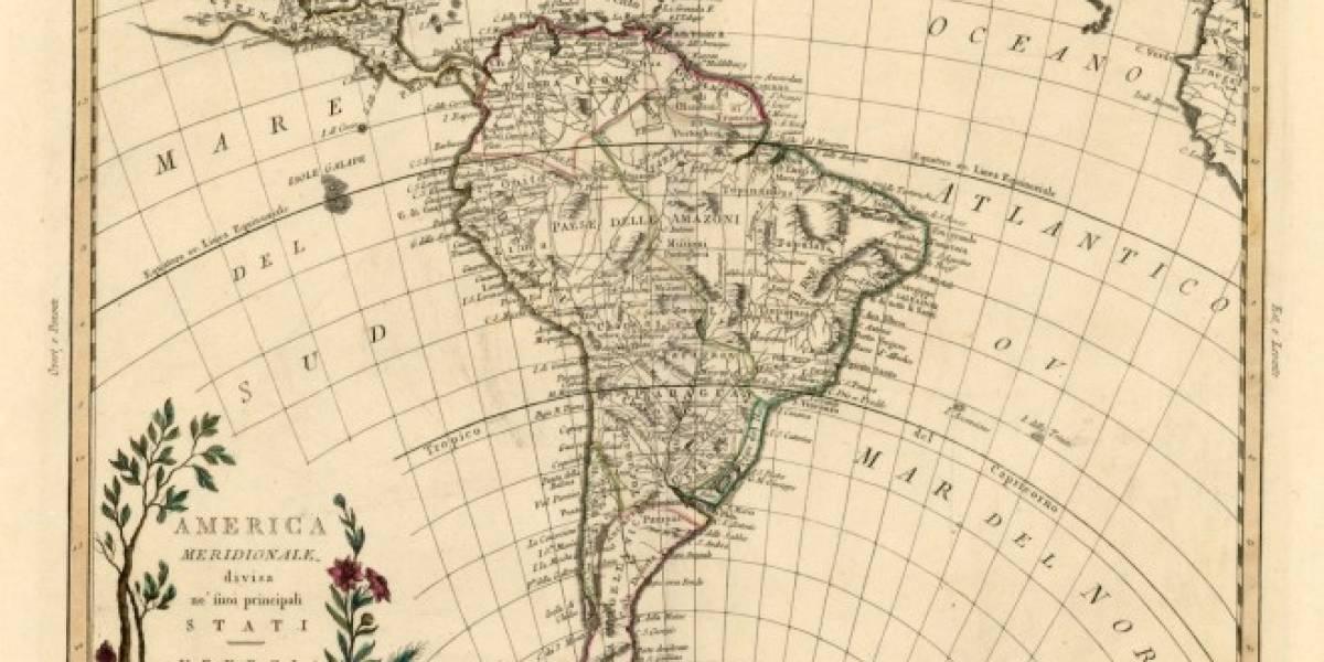 Biblioteca Pública de Nueva York libera unos 20.000 mapas históricos para descarga