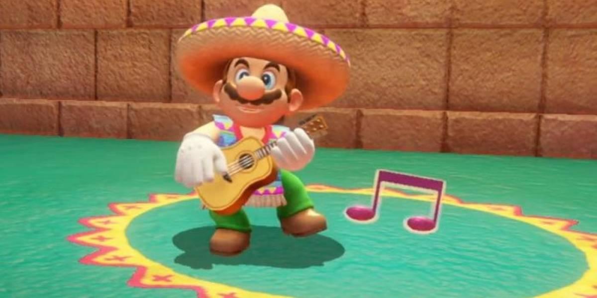 Nintendo elimina a Mario con sombrero de la portada de Super Mario Odyssey