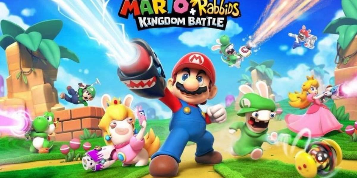 Estos serían los amiibo de Mario + Rabbids Kingdom Battle