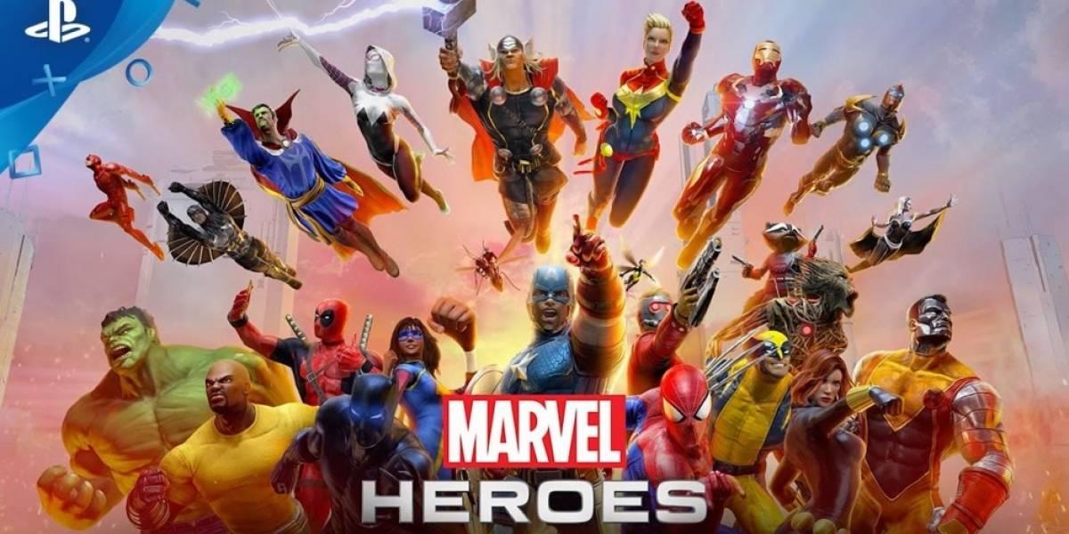 Mañana arranca la Beta abierta de Marvel Heroes Omega en PS4