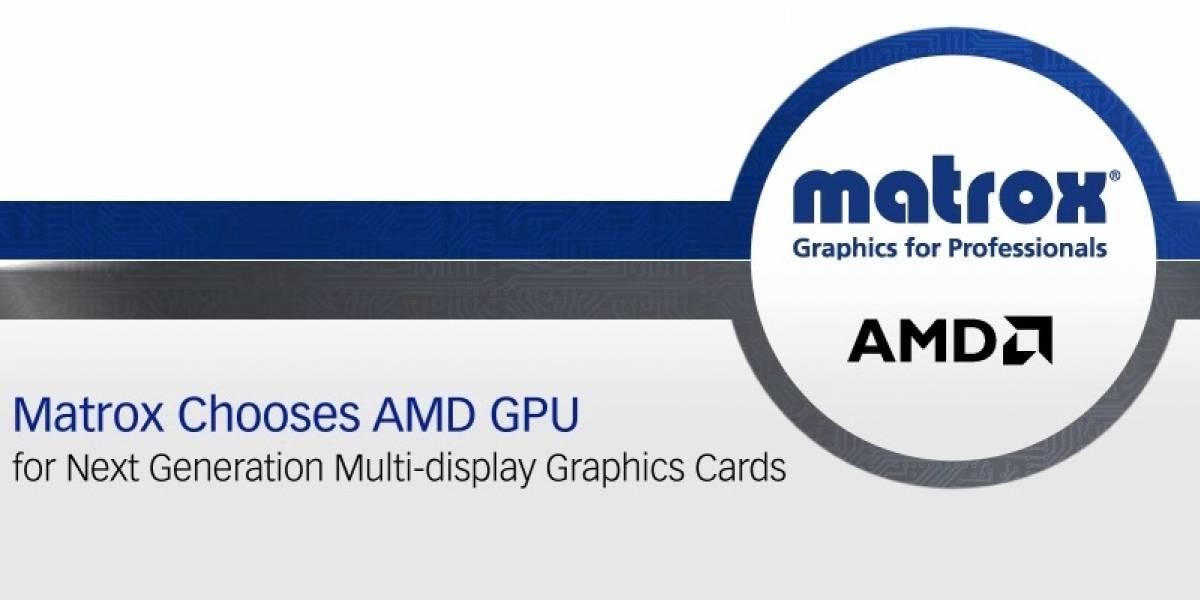 Matrox anuncia su nueva generación de tarjetas gráficas profesionales basadas en GPUs AMD