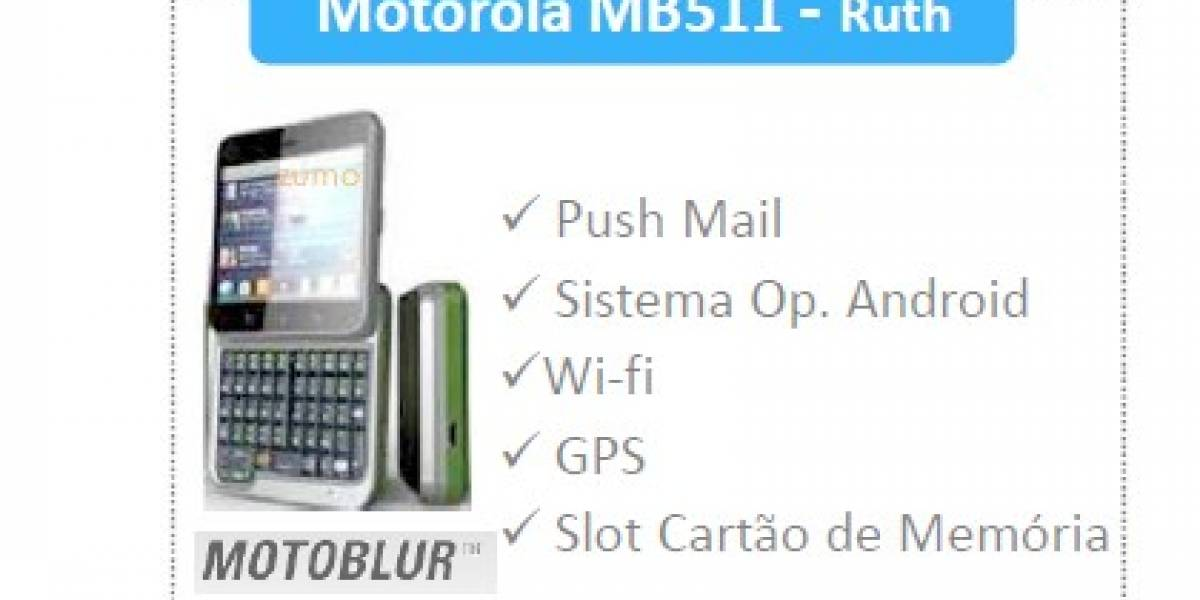 Motorola BB511 (Ruth), nuevamente capturado