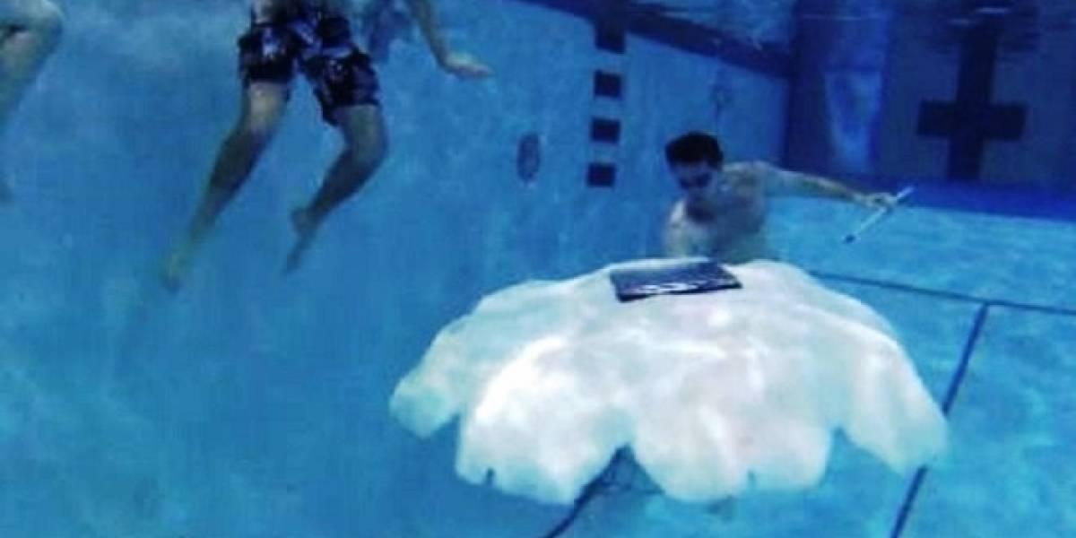 Desarrollan robot medusa para patrullar el mar