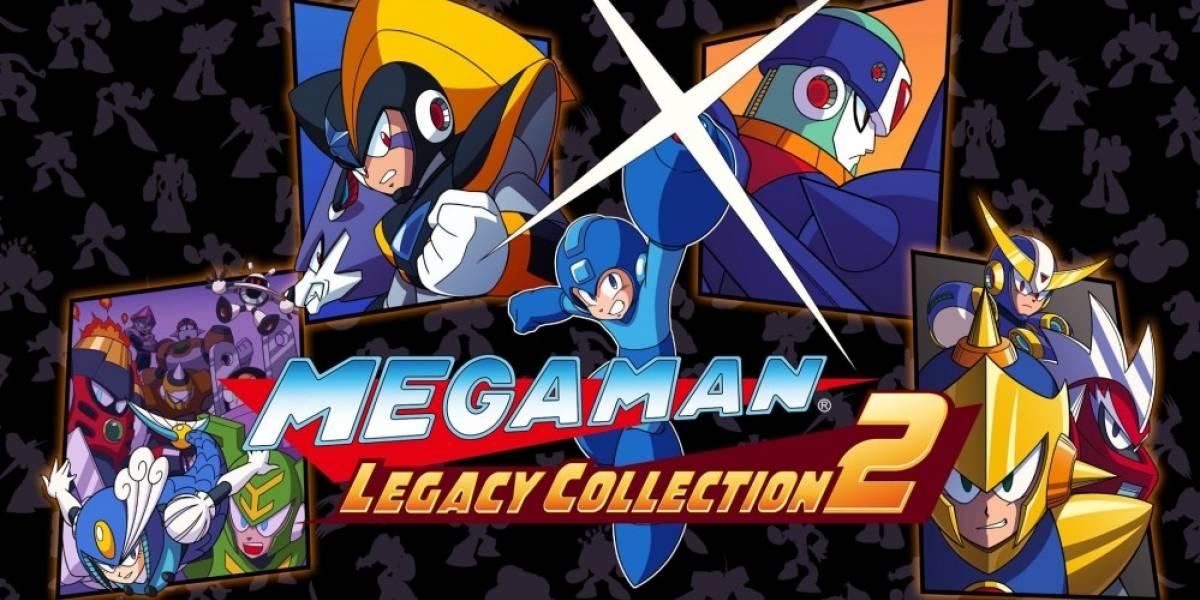 Capcom anuncia Mega Man Legacy Collection 2 para PS4, Xbox One y PC