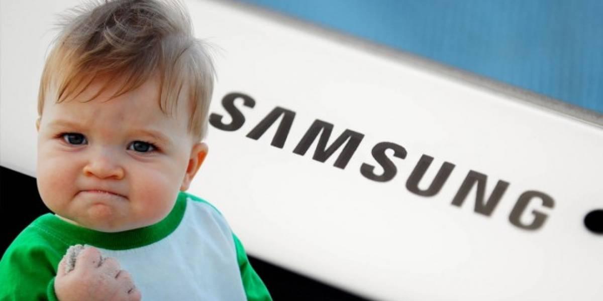 Samsung patenta smartphone con pantalla 100% curva