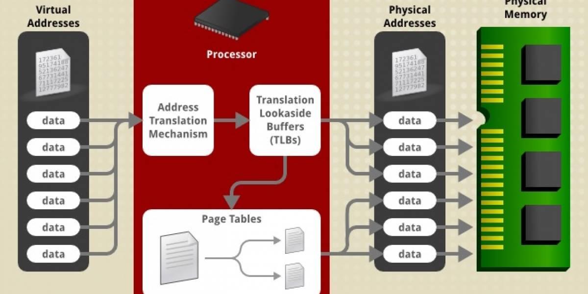 Paginado selectivo podría mejorar considerablemente la velocidad de acceso a la memoria