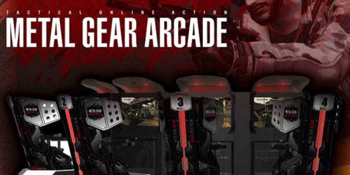 [E309] Primera imagen de Metal Gear Arcade