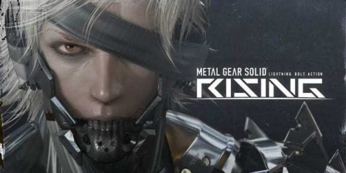 Kojima Productions está construyendo Metal Gear Solid Rising desde cero