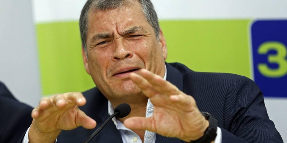 Correa, víctima de 8 incidentes violentos en la campaña