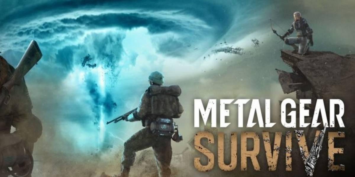 Konami revela la fecha de lanzamiento de Metal Gear Survive