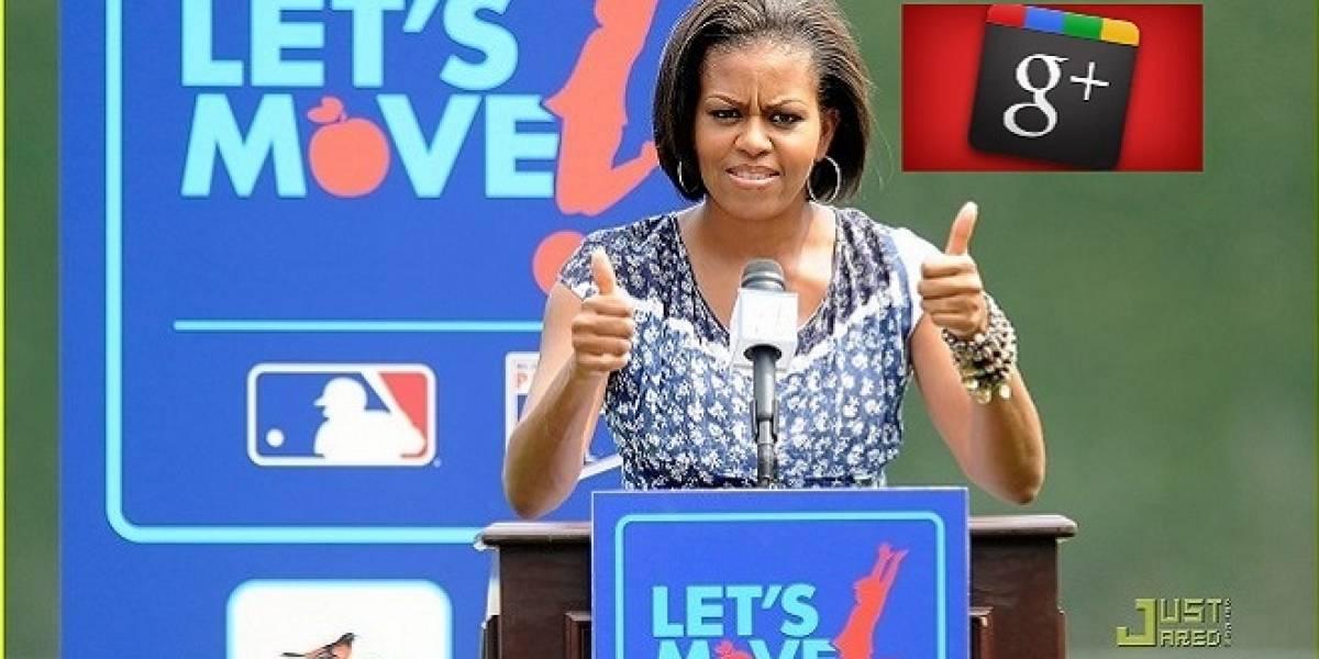 Michelle Obama se reunirá con millones de familias a través de Google+