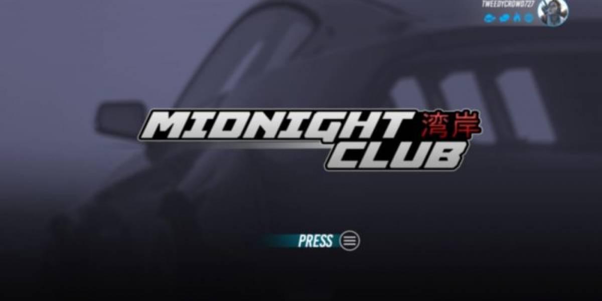 Filtran presuntas imágenes de nuevo Midnight Club