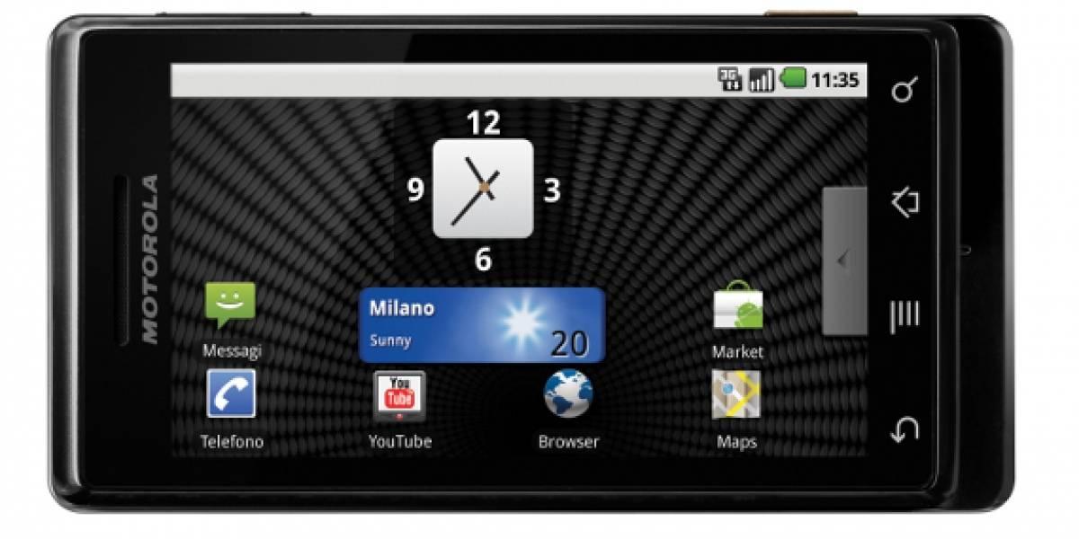 Motorola Milestone ya se vende a través de Personal