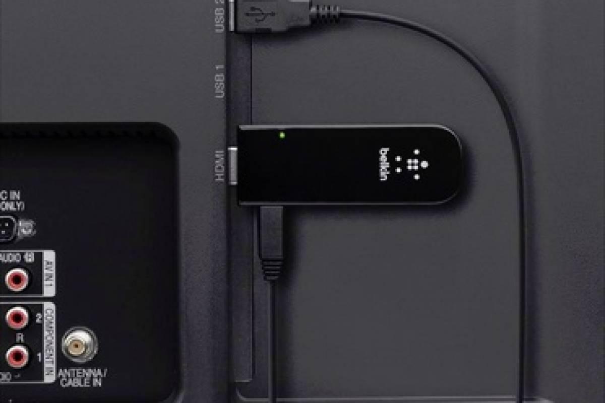 Belkin presenta su dongle HDMI Miracast Video Adapter para HDTV