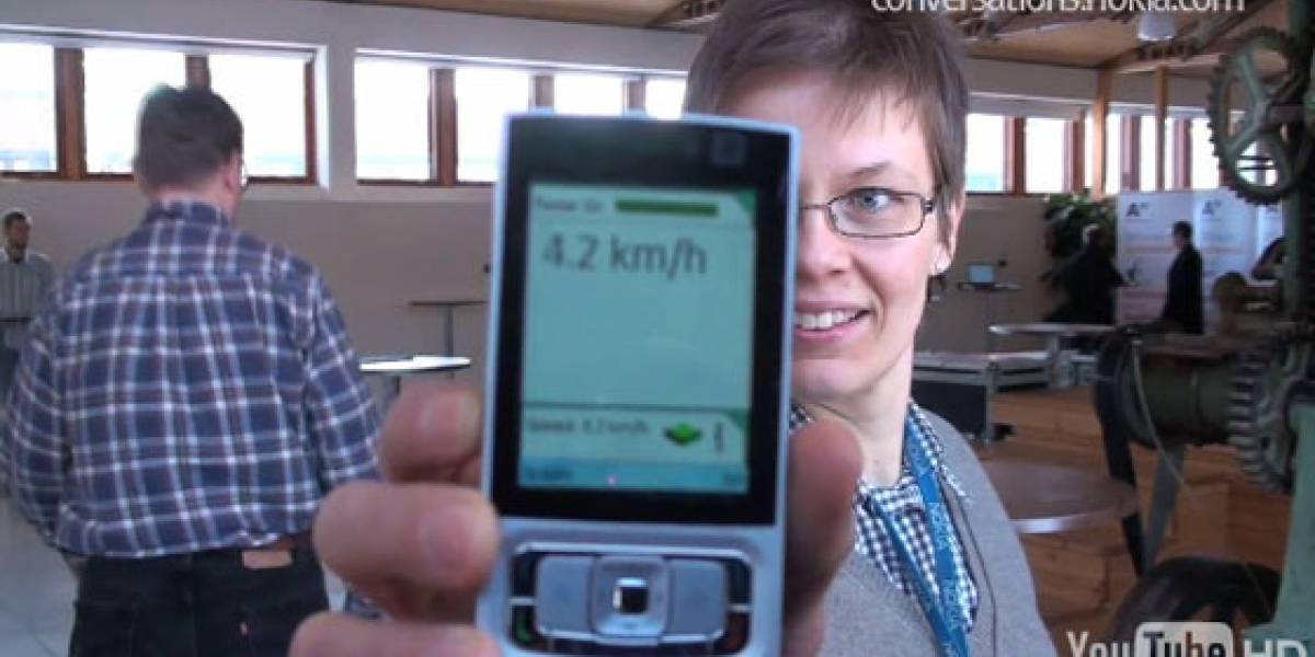 Mobile Radar: Calculando la velocidad, distancia y dirección