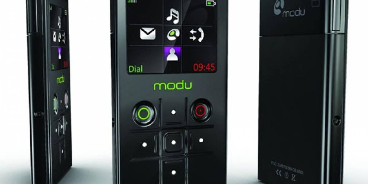 Modu 1, el móvil más liviano del mundo