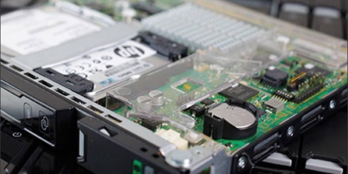 HP muestra sus Servidores Proliant Moonshot basados en los SoC AMD Kyoto y ARM Cortex-A9/A15