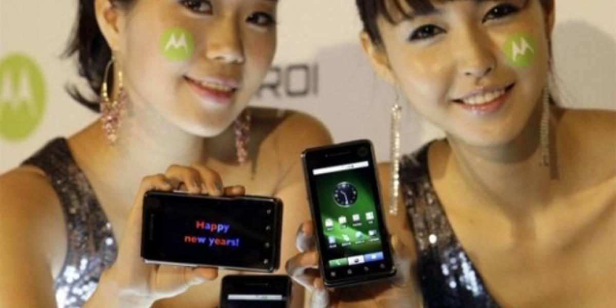 El Motorola MOTOROI capturado en video
