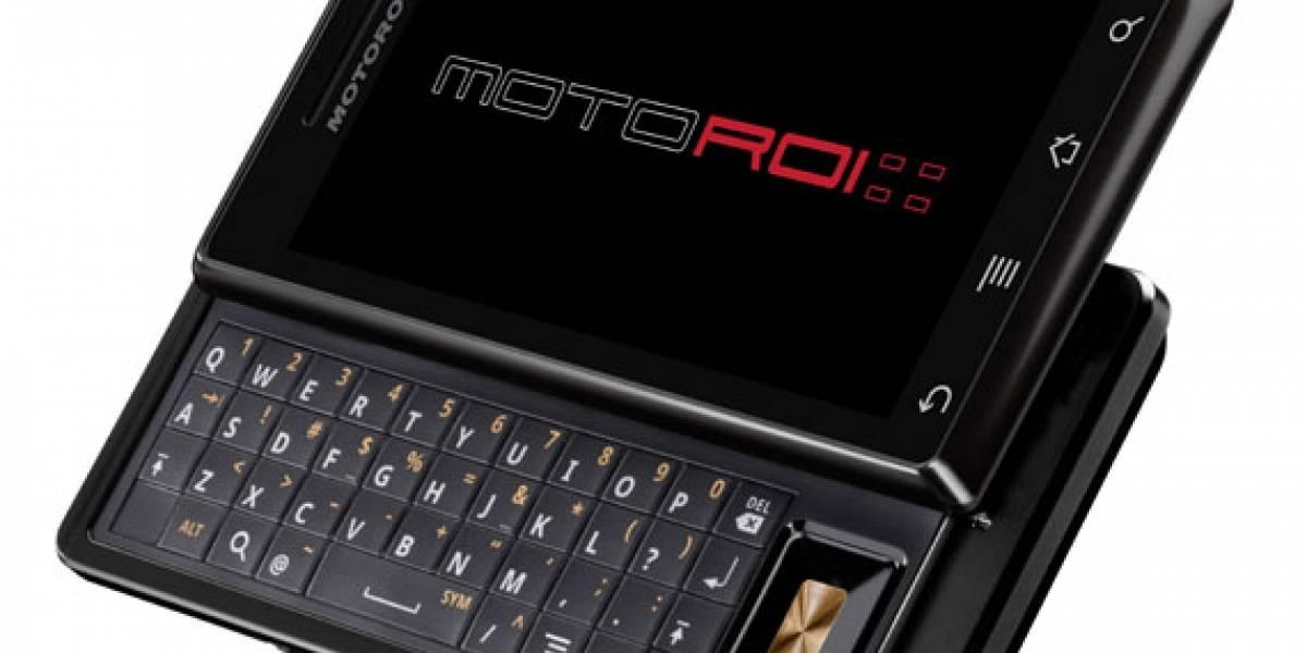 Iusacell presenta en México el Motorola DROID bajo el nombre de MOTOROI