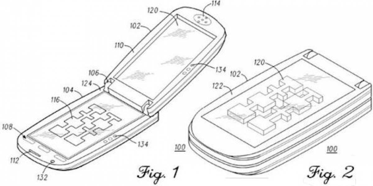 Futurología: Motorola patenta un móvil 3D y semitransparente
