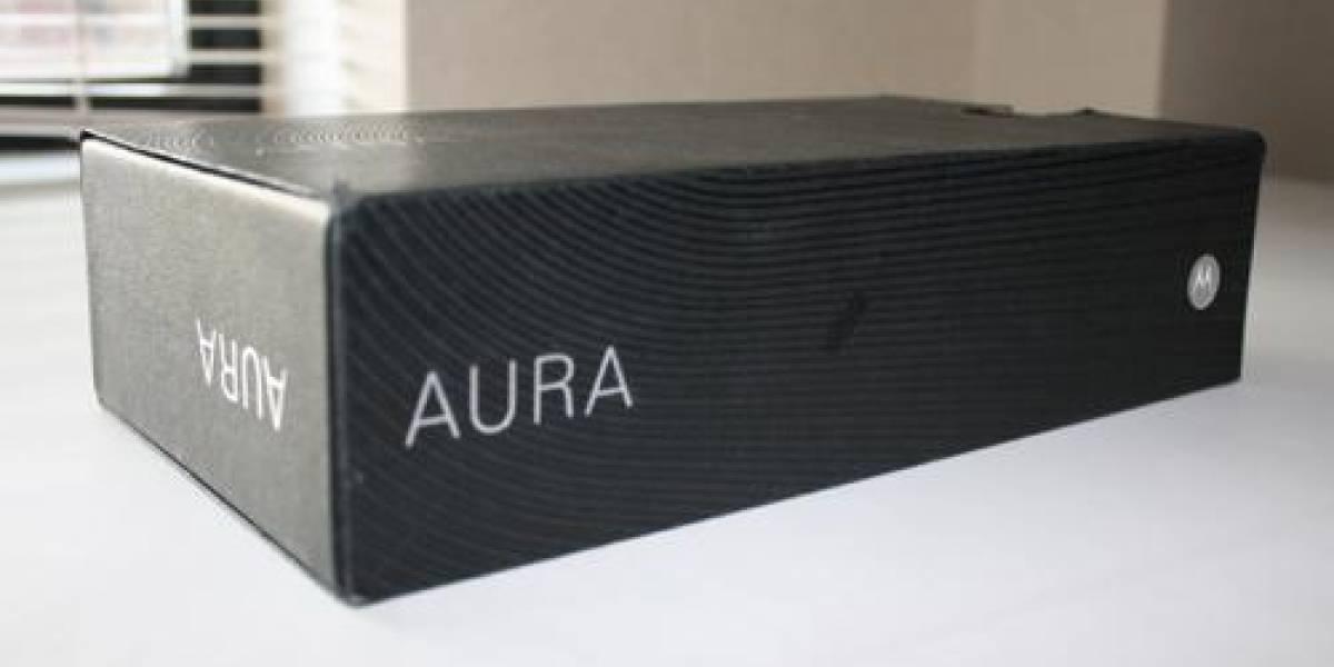 W Galería: Desempaque del Motorola Aura
