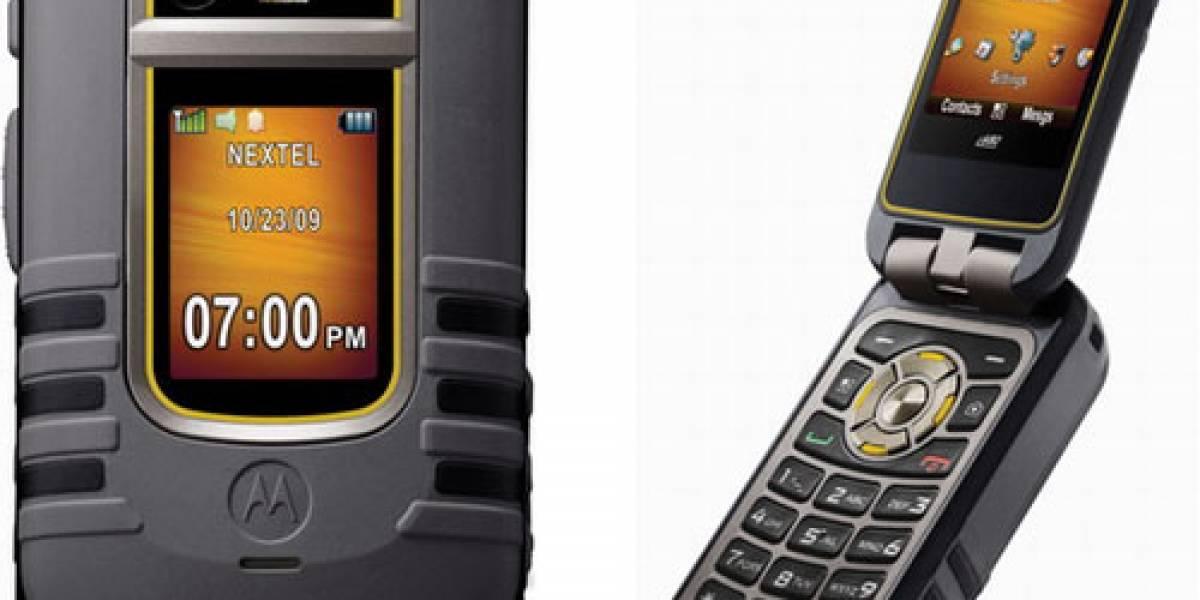 Motorola Brute i680, con Public Safety