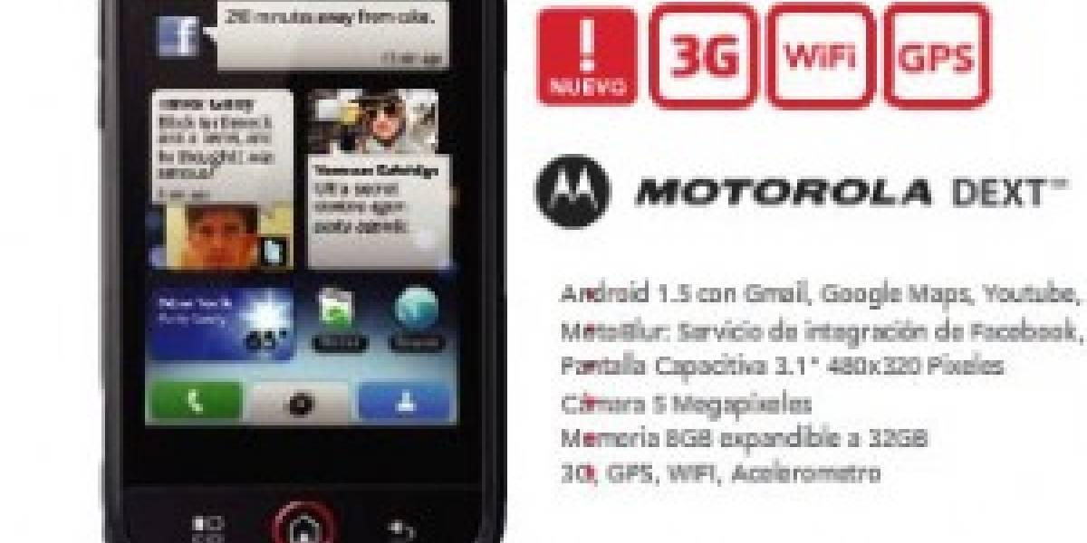 Argentina: ya se puede reservar un Motorola DEXT en Claro