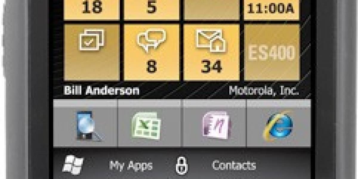 Plataforma Windows Embedded Handheld es presentada con el Motorola ES400