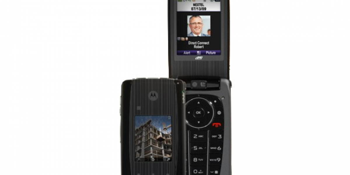 Motorola iDEN i890: Un nuevo móvil básico y plegable