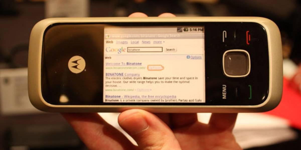 CES10: Motorola presentó el HS1001, un teléfono fijo con Android