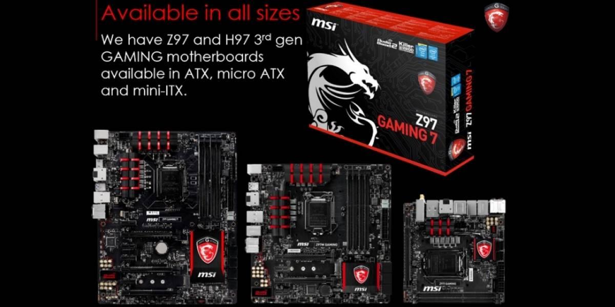 MSI inicia la comercialización de sus tarjetas madre 9 Series socket LGA 1150