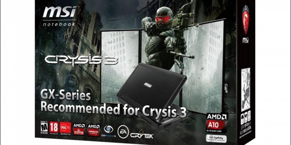 MSI lanza su notebook GX70 Gaming Series