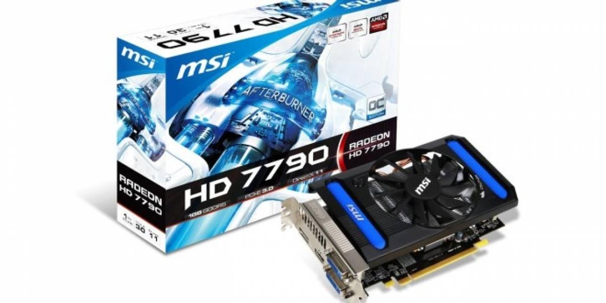 MSI también se sube al carro y anuncia dos tarjetas HD 7790