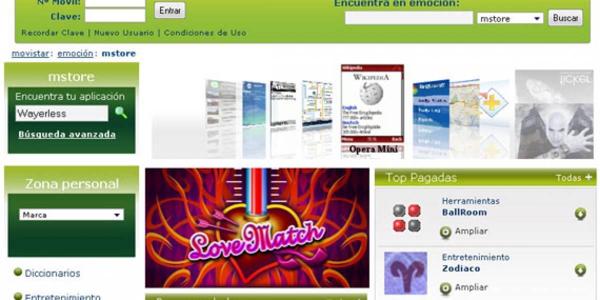 Movistar presenta mstore, su tienda de aplicaciones para móviles