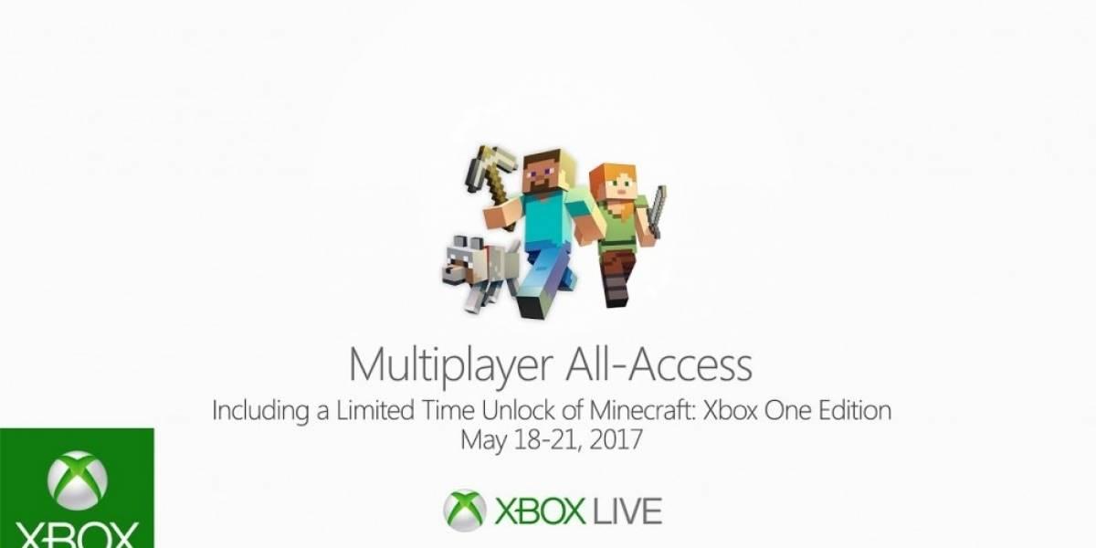 Xbox tiene multijugador gratis durante este fin de semana