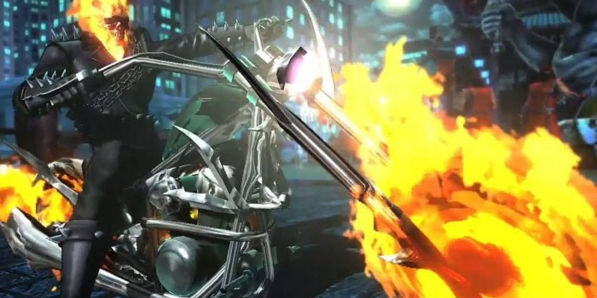 Ghost Rider estará en el elenco de Marvel vs. Capcom: Infinite