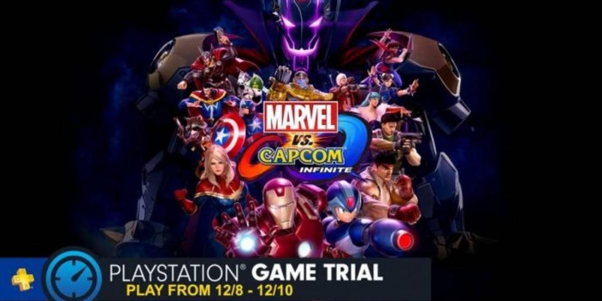 Marvel vs. Capcom Infinite tendrá prueba gratuita para los suscriptores de PS Plus