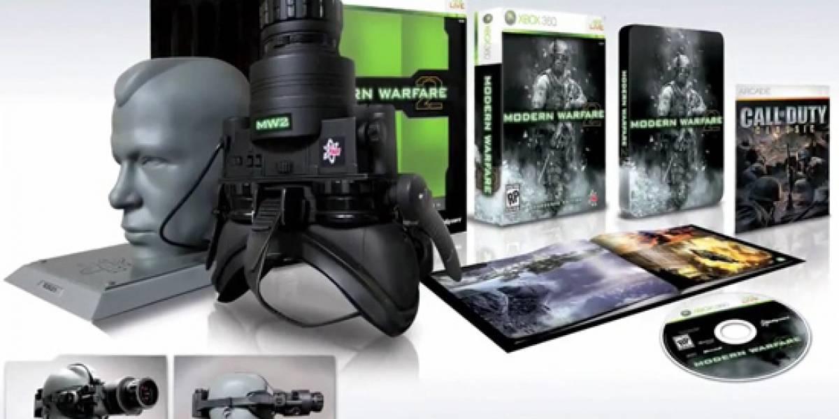 La edición Prestige de Modern Warfare 2 costará US$149