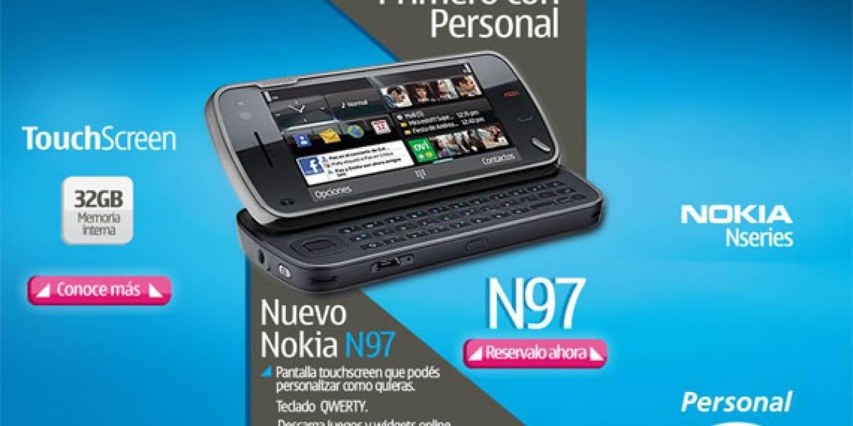 N97 llega a Argentina con Telecom Personal