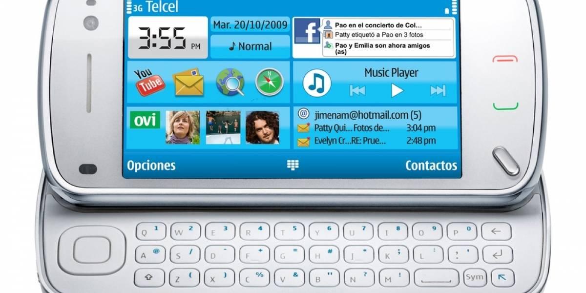 El Nokia N97 llega a México con Telcel