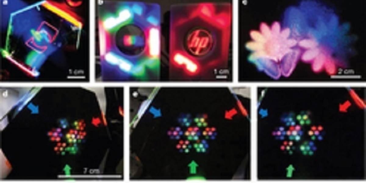 Investigadores de HP crean una pantalla LCD 3D holográfica