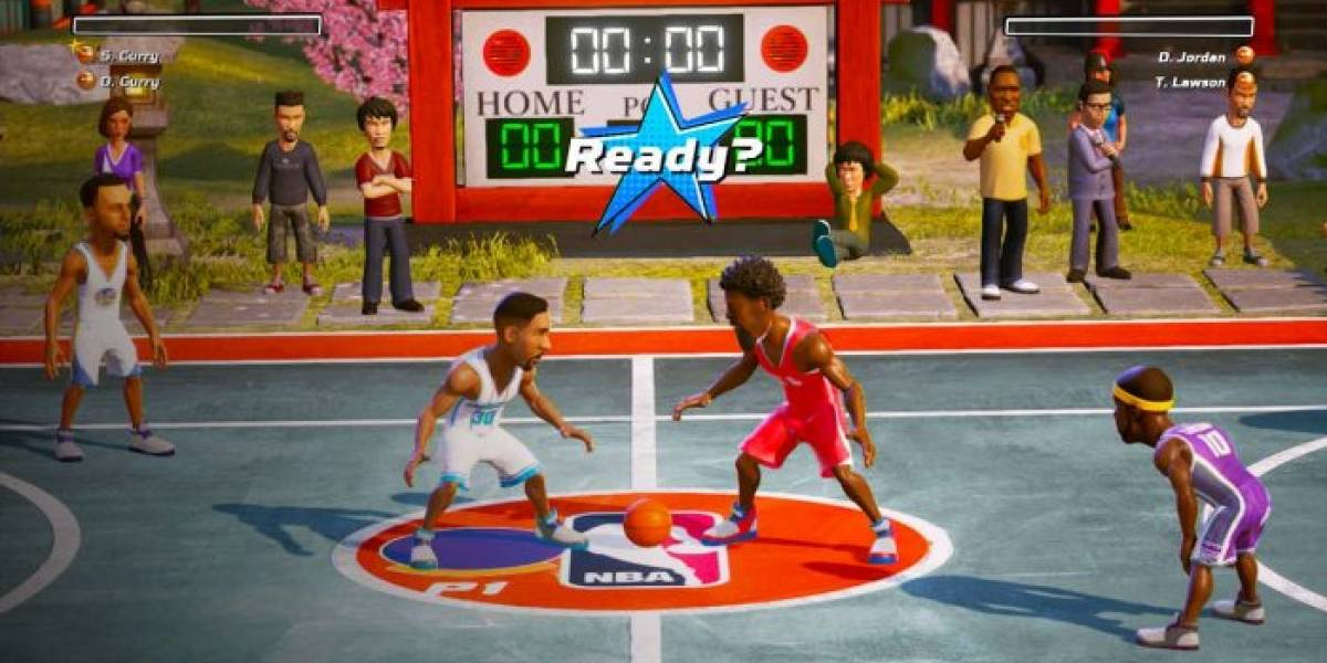 NBA Playgrounds para Switch finalmente es actualizado con Juego Online