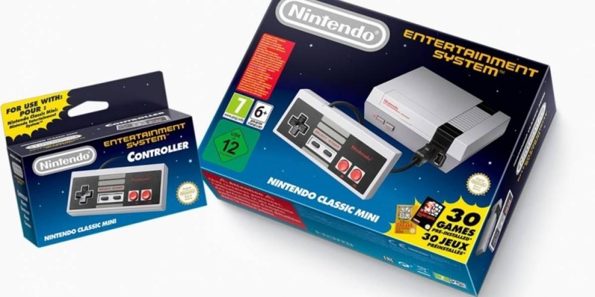 Nintendo anuncia que la NES Mini volverá el próximo año