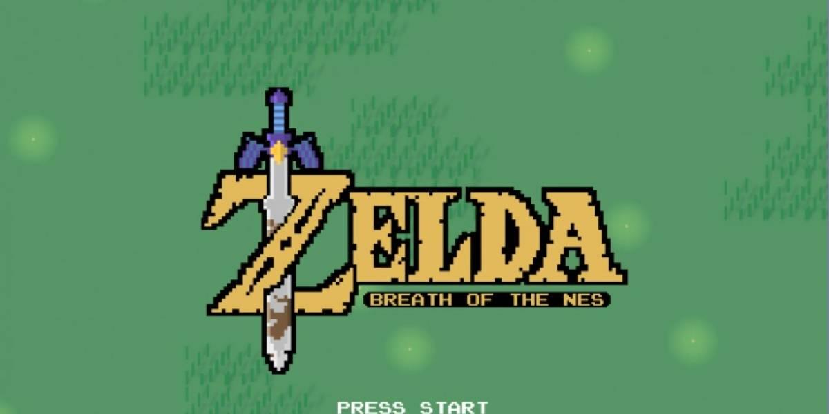 Este es Breath of the NES, un juego en 2D del nuevo Zelda creado por un fan
