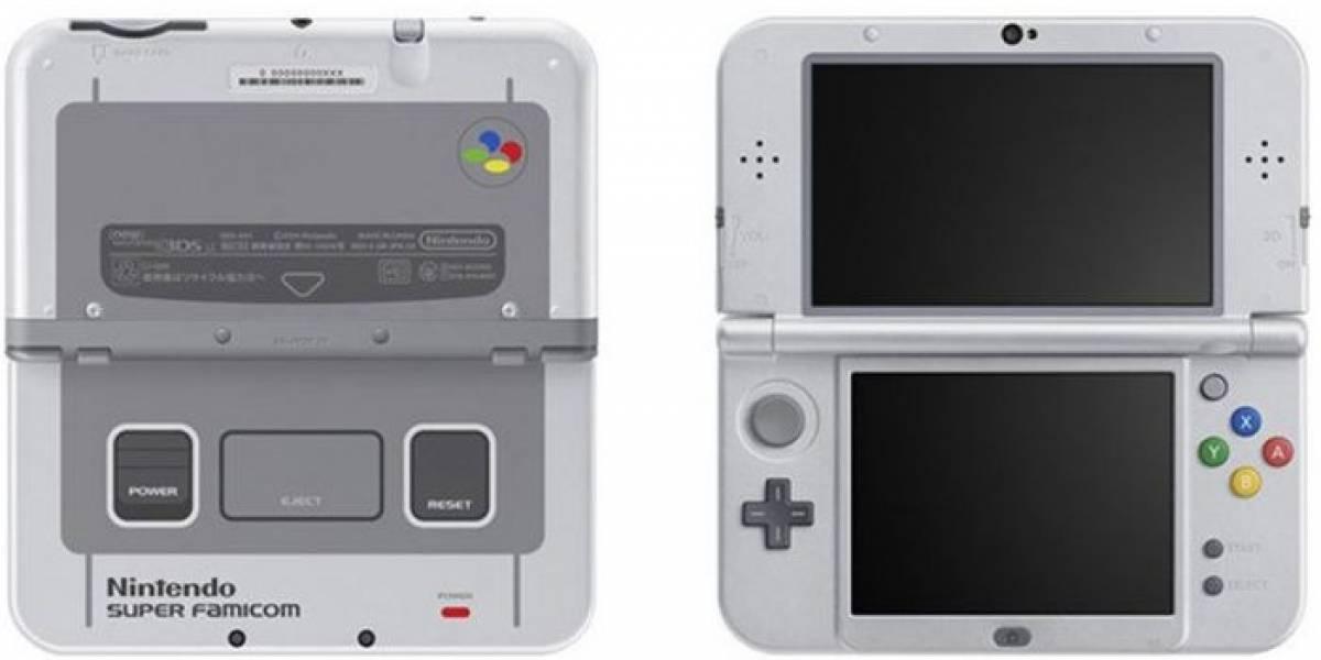 Nintendo anuncia New 3DS XL Edición Super Nintendo #gamescom2017