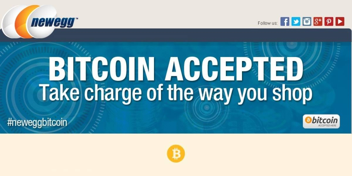 Newegg y Overclockers UK también aceptan Bitcoins