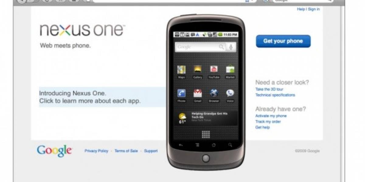 Se filtran documentos del Nexus One con detalles de sus precios